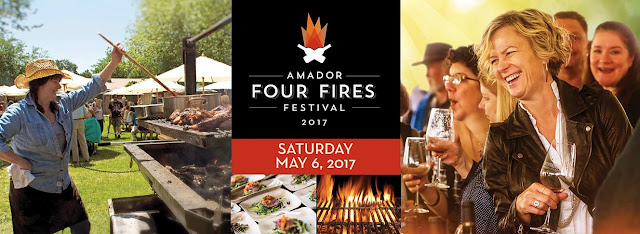 Wine! Food! Amador Four Fires is Saturday!