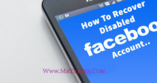 Disable Facebook Account