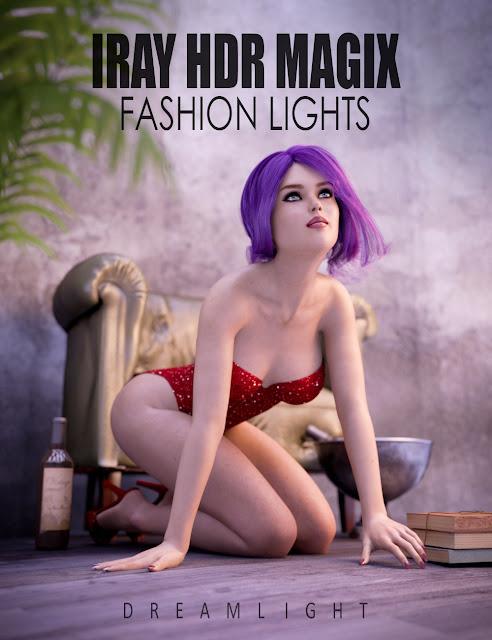 Iray HDR Magix Fashion Lights