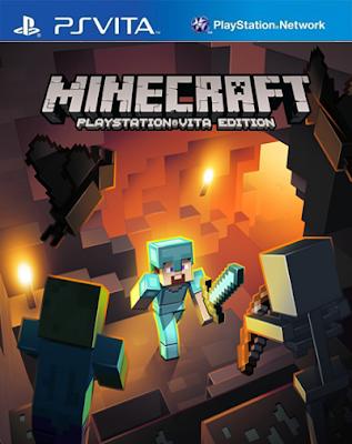 Minecraft Playstation Vita Edition (DLC+Update 1.51) [Mai] [USA/EUR] [Mega]