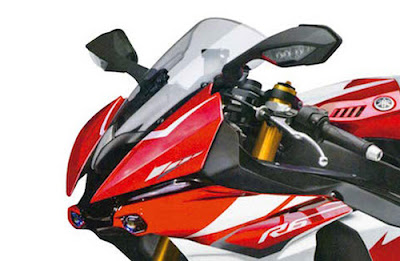 2016 Yamaha YZF-R6  close up shot image
