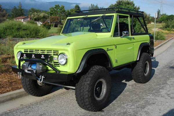 1970 Ford Bronco For Sale or Trade