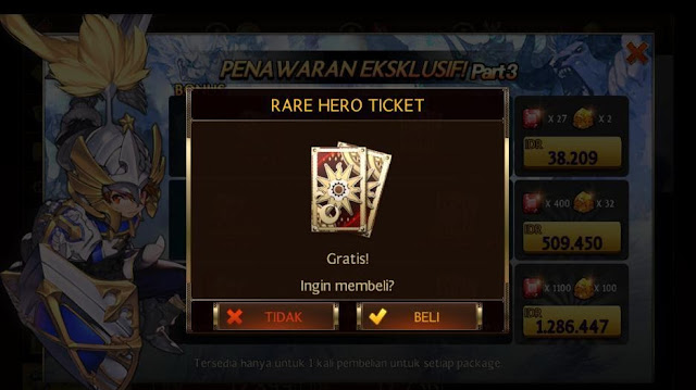 Buy Hero Ticket at Shop