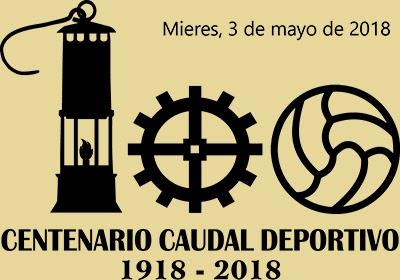 Matasellos del Centenario del Caudal Deportivo de Mieres