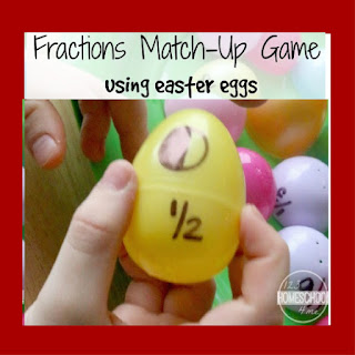 easter egg fractions math activity