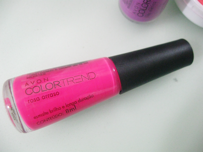 Esmalte Rosa Arraso Avon Color Trend