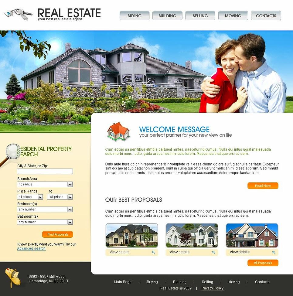 thiết kế website nhà đất giá rẻ