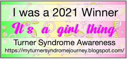 Sponsor Winner My Turner Syndrome challenge