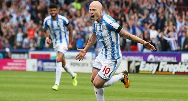 cuplikan gol huddersfield vs west brom 1-0