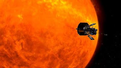 Η πρώτη φωτογραφία του Parker Solar Probe από το Διάστημα στο ταξίδι του για τον Ήλιο