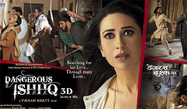 Dangerous Ishhq : Hindi Movie Review ~ Digital High Street