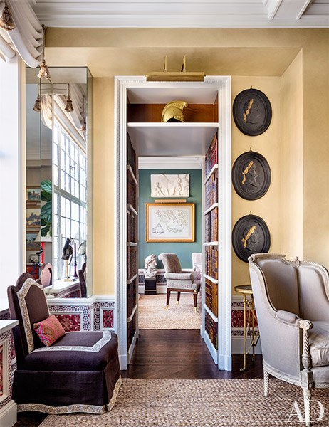 Decor Inspiration Alexa Hampton Interior Designer New York City Cool Chic Style Fashion