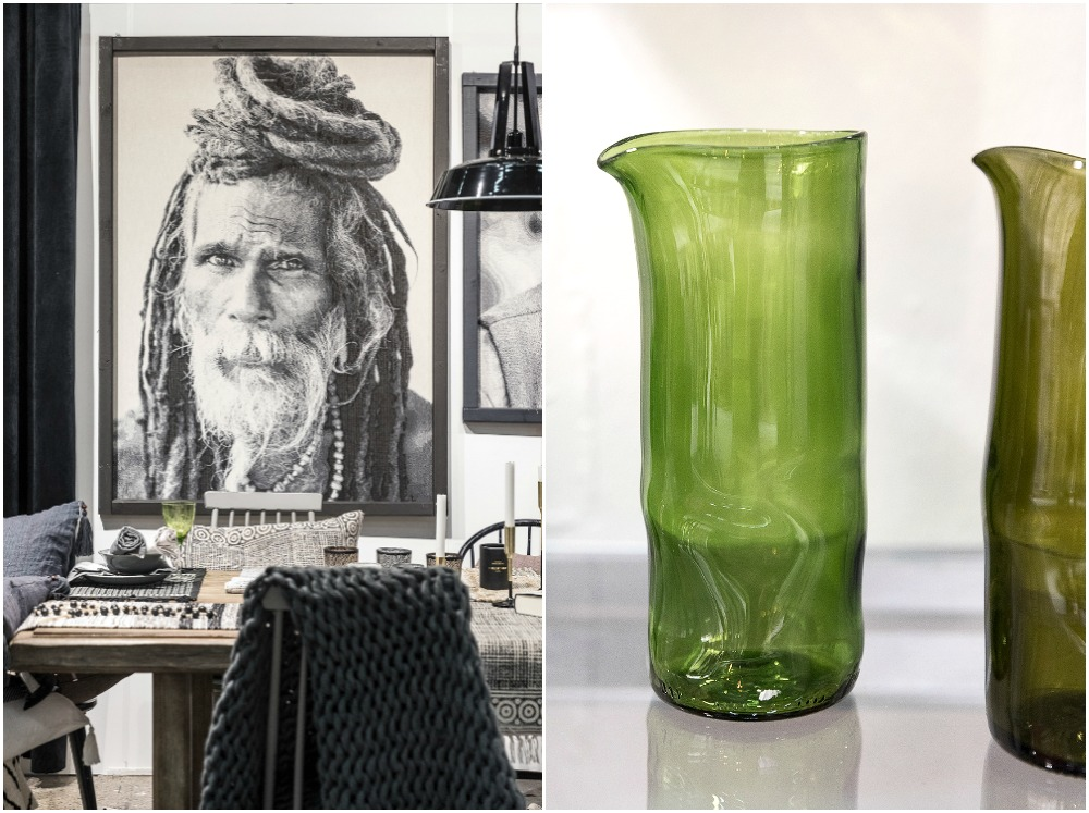 Formex, tradefair, sisustus, sisustaminen, inredning, interior, inspiration, spring, trends, trend, Visualaddict, photography, Frida Steiner, decor, decoration, trends2018, colours, home, colors, green, Svanefors, jar, glass, recycle, reuse