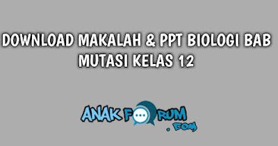 Mutasi biologi