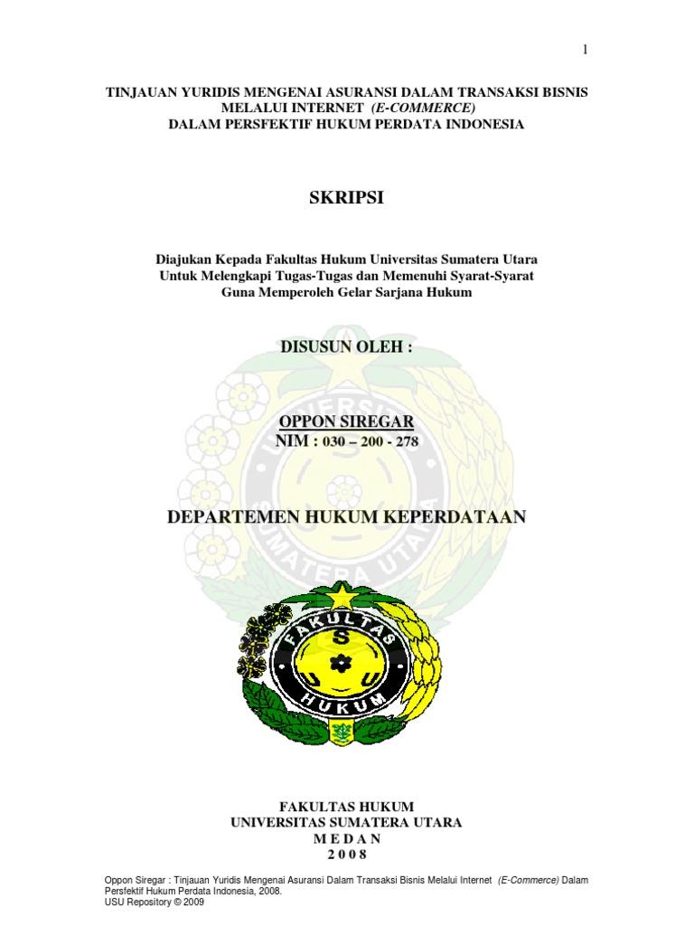 Contoh Skripsi Hukum Perdata Tentang Pertanahan Pejuang Skripsi