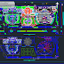 مخطط وصفي لمركز تجاري 2 اوتوكاد dwg