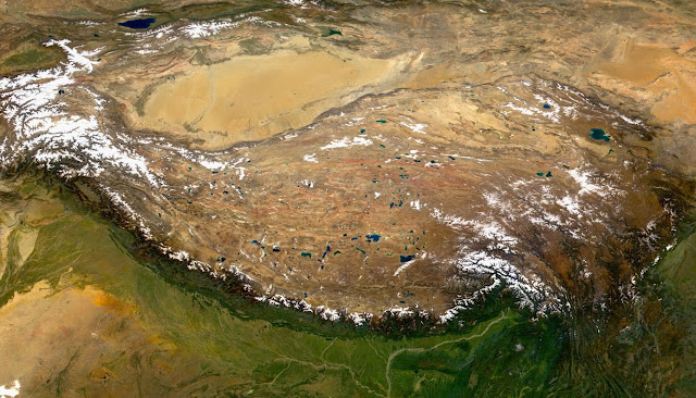 Tibetan plateau rose later than we thought