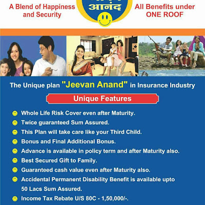 LIC Jeevan Anand Plan Details Plan no 815 Features