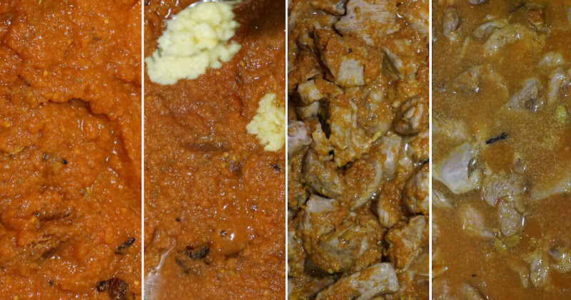Chettinad Lamm-Curry - Sauce