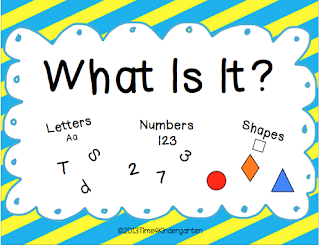 Time 4 Kindergarten Sorting Letters Numbers and Shapes