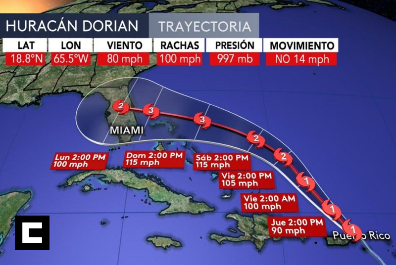 Dorian se aleja de RD; 12 provincias continúan en alerta
