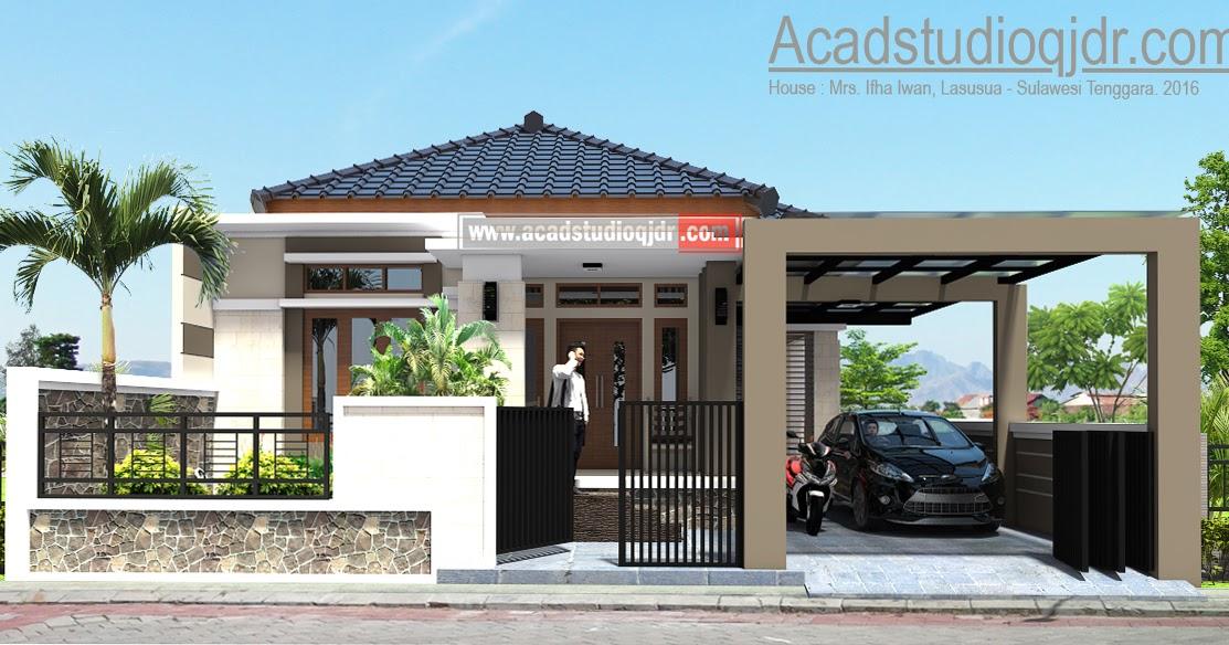 Contoh Desain Rumah Ukuran 10 X 15  Rumah XY