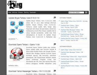 Blogger Template Bamz Style V2 Modified