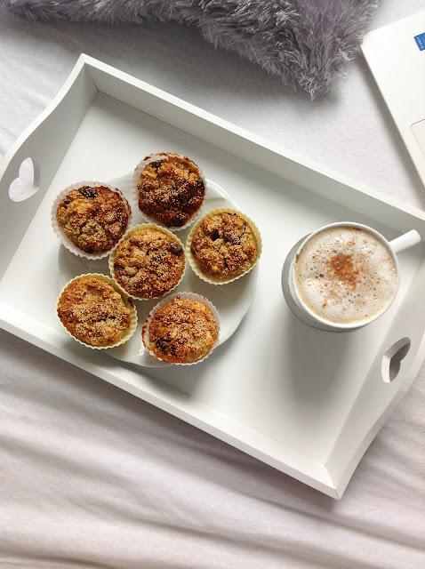 Fit muffiny z jabłkiem cynamonem i amarantusem