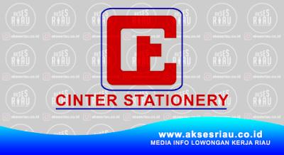 Lowongan Perusahaan Cinter Stationery Pekanbaru Januari 2017