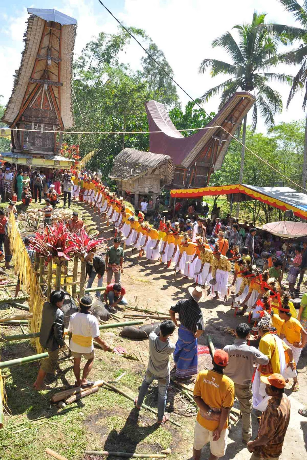 Jenis Upacara Rambu Tuka'  Suku Toraja