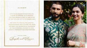 Deepika Padukone And Ranveer Singh Has Decided To Tie A Knot So The