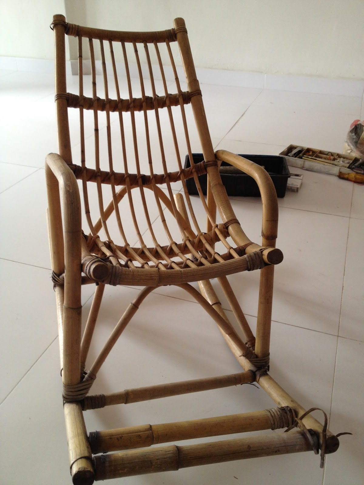 Our Renovation Adventures Baby Rocking Chair