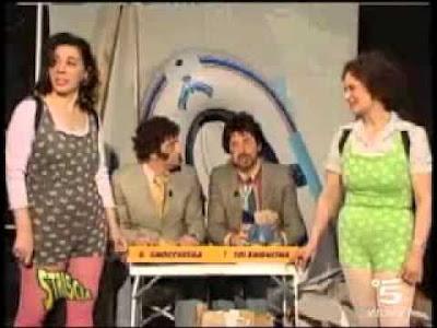 Gnocchi e Solenghi in ''Striscia la Berisha'' di Antonio Ricci