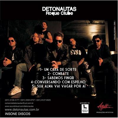 cd detonautas roque clube 2011