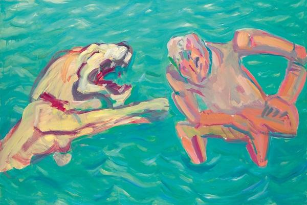 by Maria Lassnig - Di notte, quando i topi urlano - 1981