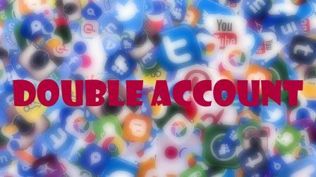 social media double account