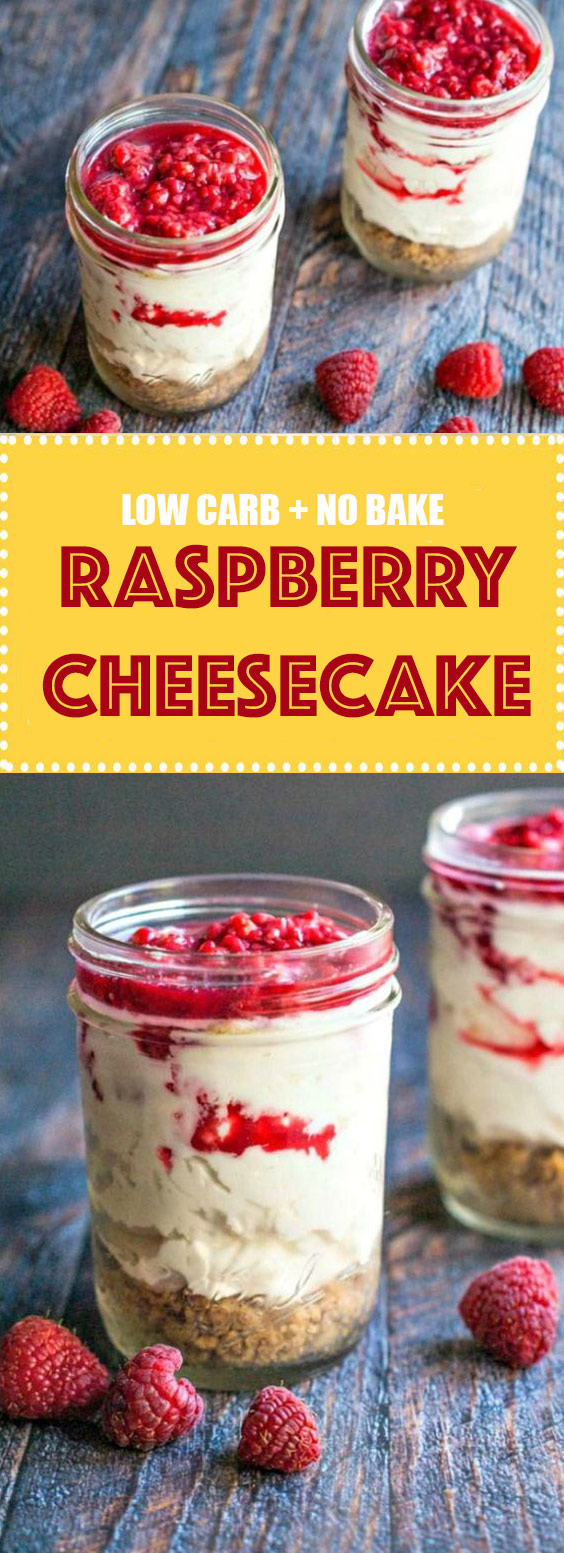 Raspberry No Bake Cheesecake