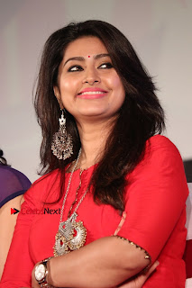Actress Sneha Latest Stills in Red Dress at Simba Audio Launch  0014.jpg