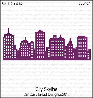 Custom Die: City Skyline
