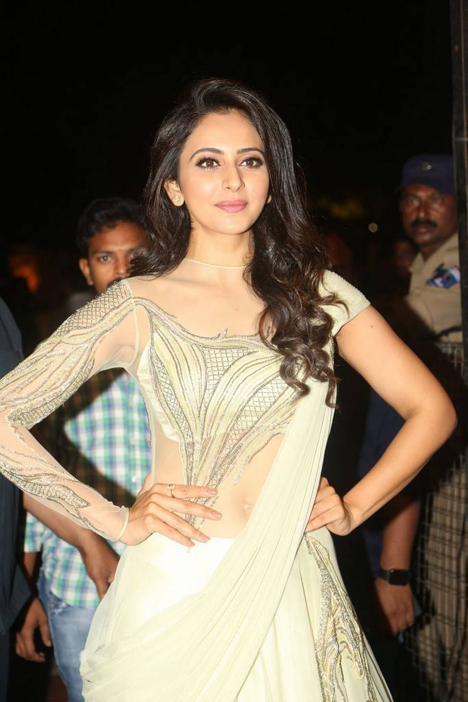 Rakul Preet Singh At Spyder Movie Pre Release Event Stills