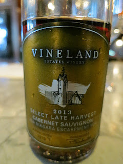Vineland Estates Select Late Harvest Cabernet Sauvignon 2013 (88+ pts)