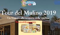 Logo Il Tour del Mulino è tornato: vinci subito gratis forniture di prodotti Mulino Bianco