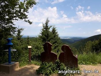 Liebesbankweg im Harz
