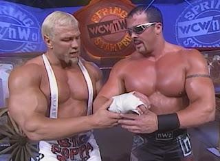 WCW Spring Stampede 1998 - Scott Steiner & Buff Bagwell