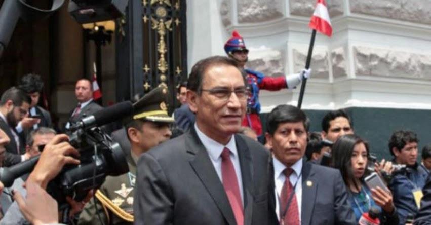 MARTÍN VIZCARRA: Vicepresidente regresó al Perú tras dimisión de PPK para asumir Presidencia de la República