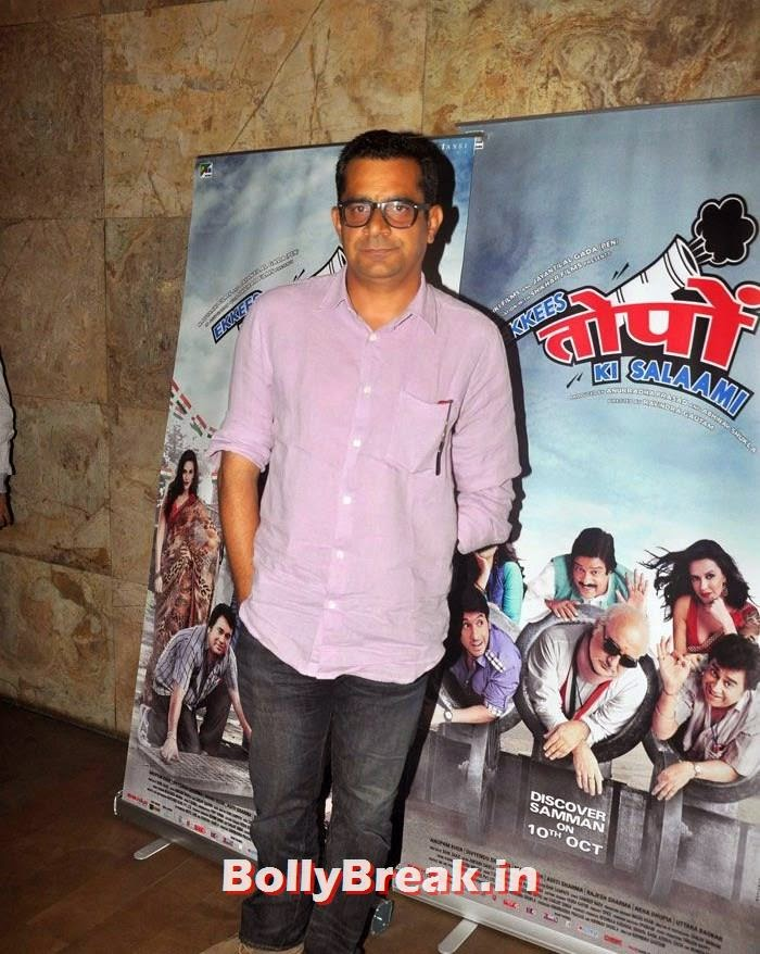 Subhash Kapoor, 'Ekkis Topon Ki Salami' Special Screening Photos