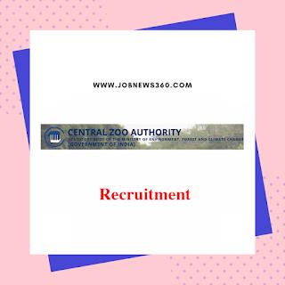 CZA-MOEF Recruitment 2019 for Member Secretary post