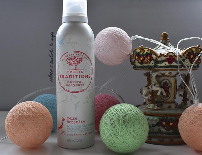 Espuma de ducha Pure Serenity de Treets Traditions