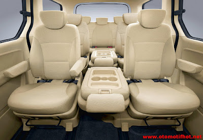 Model Interior Hyundai H1
