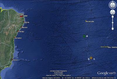 Terremoto atingiu ilhas perto da Costa Brasileira